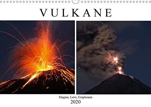 Vulkane - Magma, Lava, Eruptionen (Wandkalender 2020 DIN A3 quer)