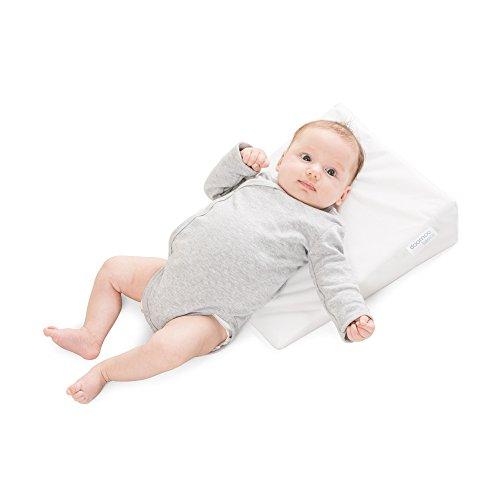 Imagen para Delta-Baby SJ 8 Rest Easy - Almohada inclinada para bebé (15º, tamaño pequeño: 29 cm de ancho)