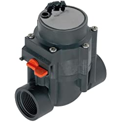 GARDENA Bewässerungsventil 24 V, Automatische Bewässerungssteuerung, selbstreinigender Feinfilter, manuelles Öffnen/Schließen des Ventils, 1278-20