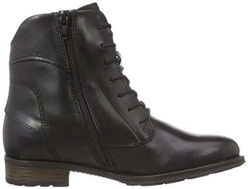 Marc Shoes Rianna, Stivali classici imbottiti a gamba corta donna Nero (Schwarz (black 100))