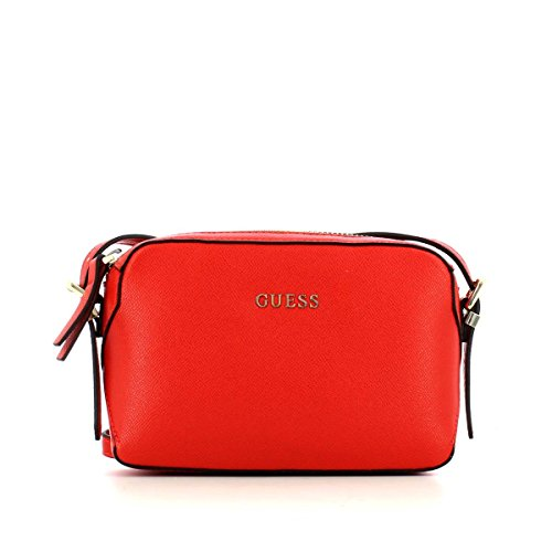 GUESS ISABEAU CROSSBODY TOP ZIP HWISABP6314 RED