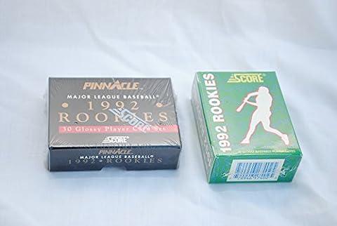 1992 Major League Baseball Rookie Card Factory Sealed Box Set x 2