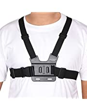 Yantralay YT-GP2 GoPro Adjustable Chest Strap Mount Body Belt Harness for Action Cameras (Black)