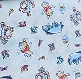 Visage Winnie Puuh Stoffe, 100% Baumwolle, 0,5 m Winnie the