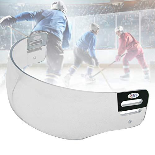 LYXMY Eishockey-Visier, klar, Anti-Beschlag, Kratzfest, Hockey-Helm, Visier für Bauer Warrior Hockey-Helm, 25x11.5x7.5 cm, Free Size