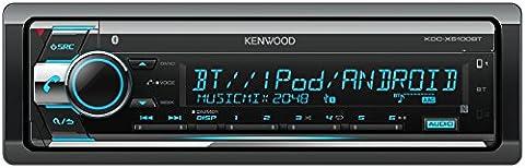 Kenwood KDC-X5100BT CD-Receiver mit Bluetooth-Freisprecheinrichtung und Apple iPod-Steuerung schwarz