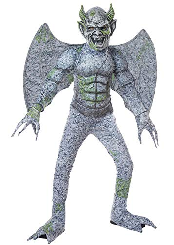 Kind Gargoyle Kostüm - Palmer Agencies Ltd Child Winged Gargoyle Boys Costume: Teen (Age 13-14)