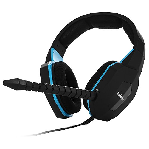 Price comparison product image Badasheng BDS-939PKU Improved Microphone Gaming Headset for PS4 , Xbox One , Smartphone , Tablet , PC BDS-939PKU(Black)
