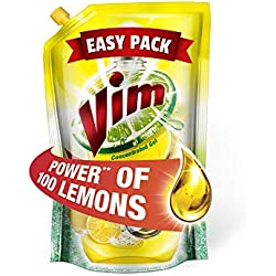 Vim Dishwash Lemon Pouch - 115ml