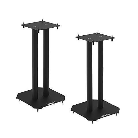 Duronic SPS1022 /40 Pieds d'enceintes Hi-Fi stéréo ou Home Cinéma 5.1 / 7.1 – 40 cm de hauteur - supporte 50 kg