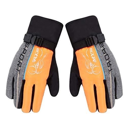 Skihandschuhe Winter Handschuhe für Herren mit Touchscreen-Finger,Winddichte Rutschfestes Insulated Warmers Gloves Leicht und Strapazierfähig Sport Ski Handschuhe für Skifahren Radfahren -
