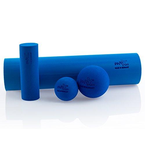 softX Faszien Trainingsgerät Set Pro, blau