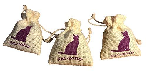 Juguete-para-gatos-relleno-con-hierba-gatera-3-bolsitas-rellenas-con-Catnip