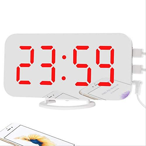 TKWL Wecker Digital Wecker Große Uhr Elektronische Wanduhr Display Uhr Moderne Dekoration