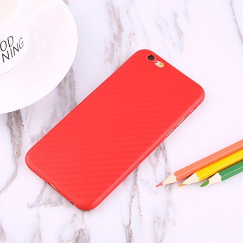 Phone case & Hülle Für iPhone 6 Plus / 6s Plus, Retro Ethnische Stil Schutzmaßnahmen zurück Fall Fall ( Color : Gold ) Red