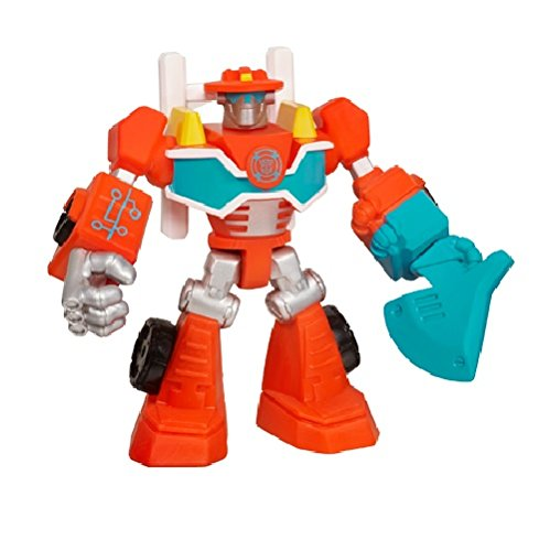 Playskool Heroes, Transformers Rescue Bots, Heatwave The Fire Bot Figure, 3.5 Inches