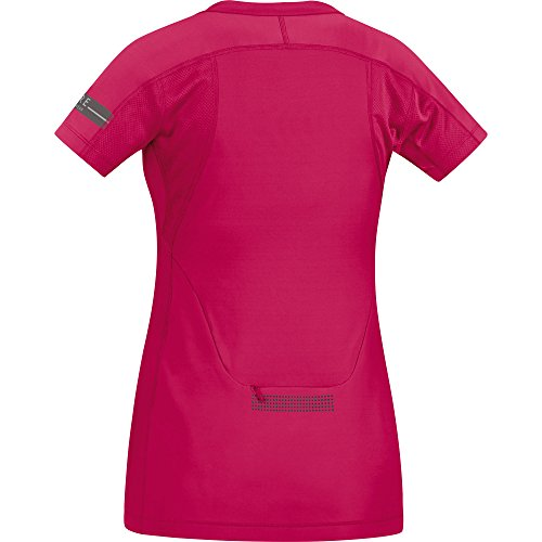 Gore Running Wear Sairld T-Shirt Femme Rosa