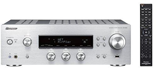 Pioneer SX-N30-S Netzwerk-Receiver (2X 85 Watt, Airplay, DLNA, WiFi, FM/AM-Tuner, Speaker A/B Schaltung, App Control) Silber