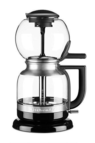 Kitchenaid Kaffeemaschine (KitchenAid 5KCM0812EOB, ARTISAN Siphon-Kaffeebrüher, ONYX SCHWARZ)