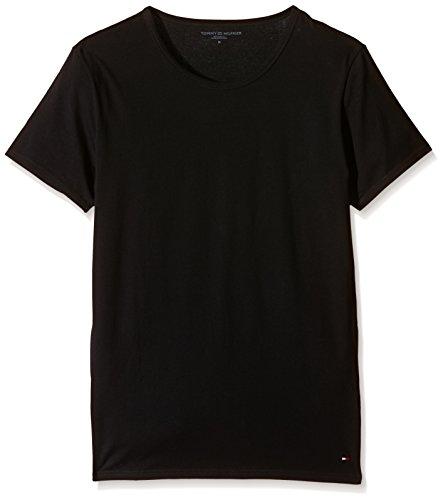 Tommy Hilfiger Herren T-Shirts 3er Pack Einfarbig  M Schwarz (Black 990),M