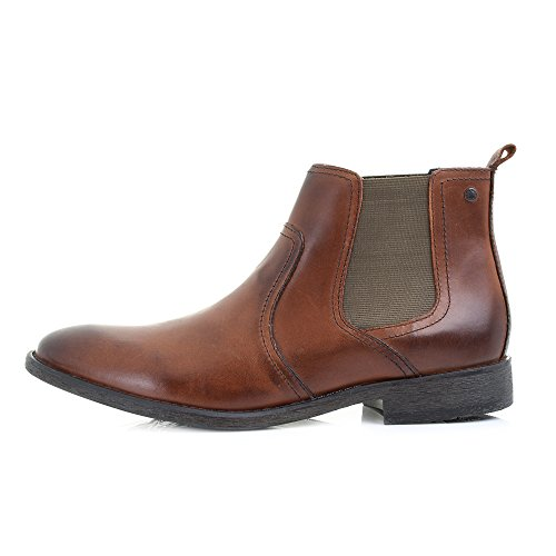 Base London - Stivali Chelsea uomo Brown/Tan