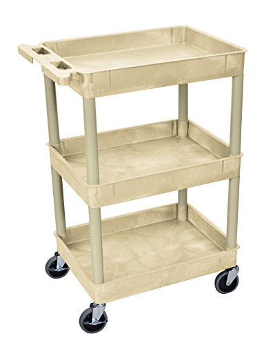 plutus-brands-serving-cart-385-h-x-24-w-x-18-d-inches-putty-lf00069