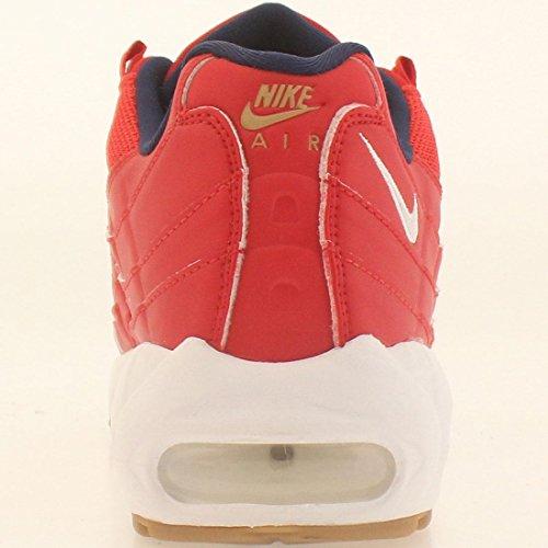 Nike Air Max 95 Prm, Scarpe da Corsa Uomo University Red/White-Mid Navy