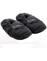 Hot Sox aufheizbare Hausschuhe für Mikrowelle und Ofen - Mikrowellenhausschuhe Wärmepantoffeln Wärmehausschuhe Wärmeschuhe Fußwärmer Supersoft