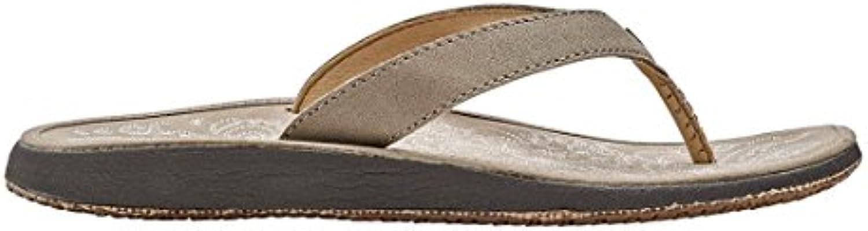 Donna  Uomo Olukai Woman Woman Woman Sandal Paniolo Natural Leather Pratico ed economico Vendita di fine anno Acquista online   Primo nella sua classe  808f8c