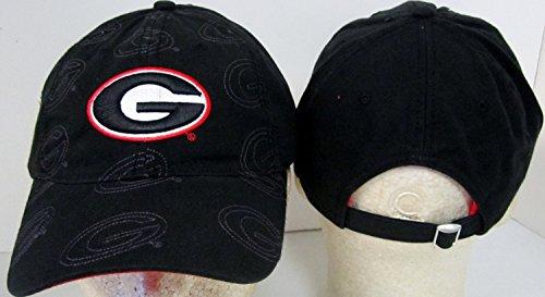 NCAA Offiziell Lizenzprodukt Georgia Bulldogs Gesticktes Team Logo Wiederholen G Baseball Hat Cap Deckel Toque