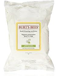 Burt's Bees Lingettes nettoyantes pour le visage Peaux sensibles
