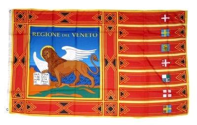 Flagge Fahne Italien - Venetien 90 x 150 cm FLAGGENMAE®