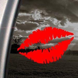 Lippen/Mund Frau SEXY Red Decal Car Truck Window Sticker, Rot -