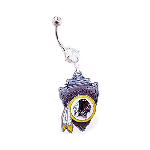 mspiercing-belly-ring-with-official-licensed-nfl-charm-washington-redskins