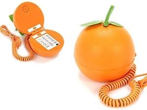 Telephone Fantaisie Forme Orange xcm dp BHVCBEV