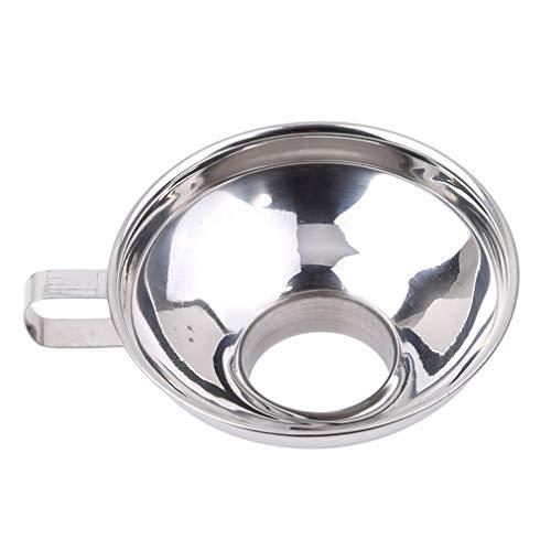 Edelstahl Canning Trichter (Sevenfly Edelstahl Jam Funnels Canning Trichter für breite und Normale Gläser, Küchentrichter Set für die Übertragung von Flüssigkeit, Öl, Pulver, Bohnen und Marmelade, Trompete)