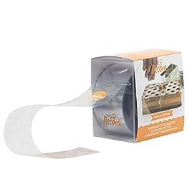 Decora 0160725 Bobina PVC per Alimenti, 10mt x 100 mm, 1 pezzo
