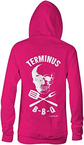 Terminus BBQ ★ Confortable veste pour femmes ★ imprimé de haute qualité et slogan amusant ★ Le cadeau parfait en toute occasion pink