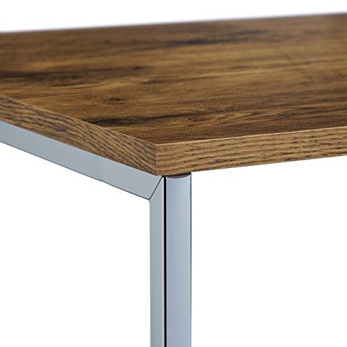 Relaxdays Beistelltische 3er Set Couchtisch Holz Metall