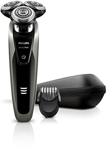 Philips Shaver Series 9000 Elektro Nass- und Trockenrasierer S9161/41, silber Philips Rasierer 9000