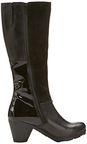 FLY London Faxy Rug/Oil Suede/Damani/Rug Damen Stiefel Black/Black/Black/Black