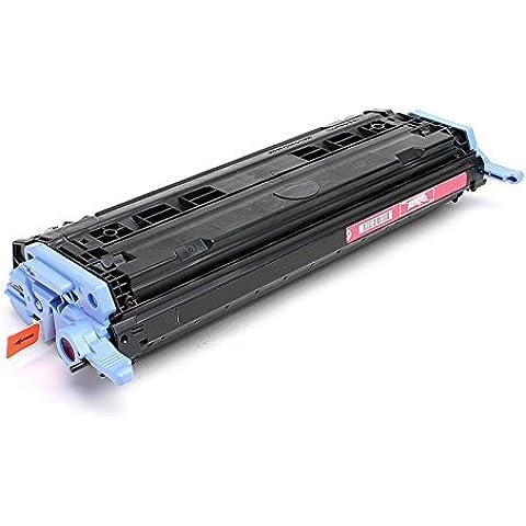 PerfectPrint - Compatible Q6003A Magenta Impresora Toner Cartridge Fo HP Laserjet 1600 2600 2600N 2605 605DN 2605DTN MFP CM1015