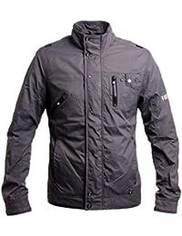 Firetrap Men's Blouse Long Sleeve Jacket Grey Charcoal