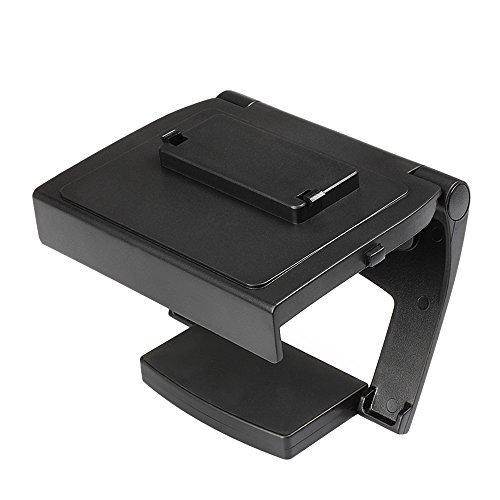 TNP Xbox One TV Mounting Clip – Black Plastic Adjustable Sensor Camera TV Clip Monitor Mount Dock Holder Stand Bracket for Microsoft Xbox One Kinect 2.0 [Xbox One] 412i5Z5VFWL
