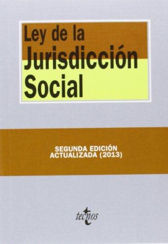 Ley De La Jurisdicción Social - 2ª Edición (Derecho - Biblioteca De Textos Legales)
