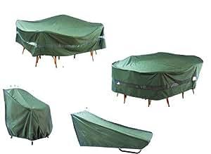 N$B® Set Für Gartenstühle Gartenliege Gartenmöbel Abdeckung Allwetter Schützh...