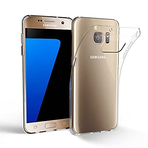 ULTRICS® Samsung Galaxy S7 Case, Crystal Clear Super Slim & Lightweight Soft Flexible Gel TPU Transparent Scratch Proof Protective Cover for SG S7