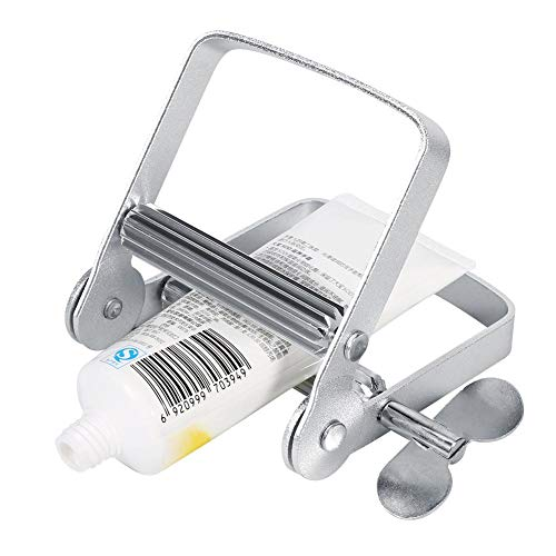 Zahnpasta Tube Squeezer, große multifunktionale Aluminium Tube Squeezer Roller Dispenser Tool zum Auspressen von Handcreme Zahnpasta Haarfarben Unguent