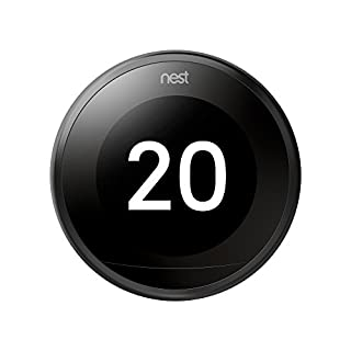 Nest Learning - Termostato Inteligente de 3 A Generación, Negro (B077Y5W7DW) | Amazon Products