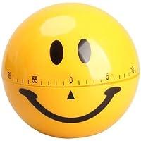 aliciashouse Smiley Timer da cucina meccanico Timer